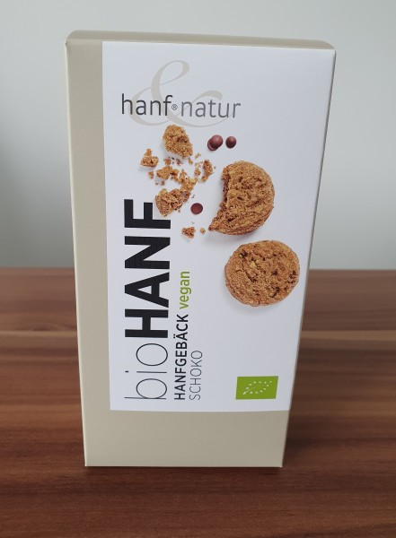 Bio Hanfgebäck Schoko VEGAN 100g