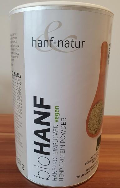 Bio Hanfproteinpulver VEGAN 450g