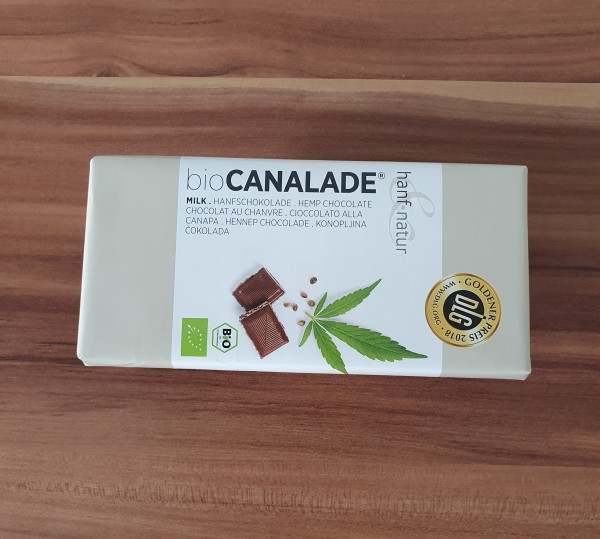 Bio Hanfschokolade Vollmilch 100g